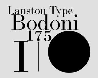 LTC Bodoni 175
