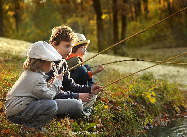 серия счастливы вместе рыбак рыбака