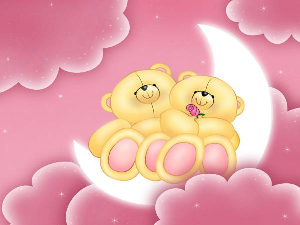 Мы влюблены, но не празднуем Valentine-Bears-valentines-day-4014420-1024-768