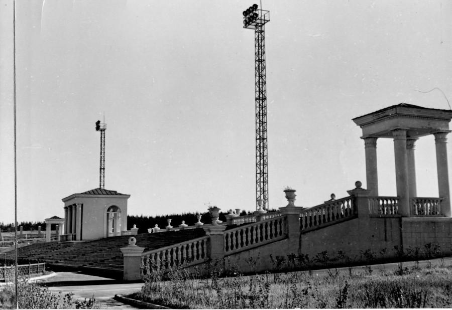 Панорама стадионаНТЗ ч.1