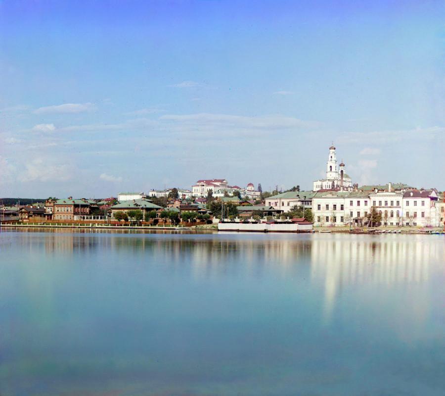 Вид на Екатеринбург от дачи Начальника Горного Округа