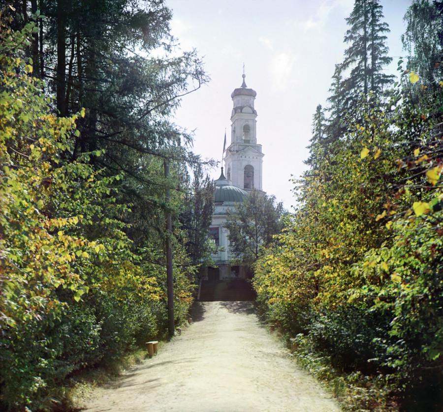 Екатеринбург Аллея в Харитоновском саду
