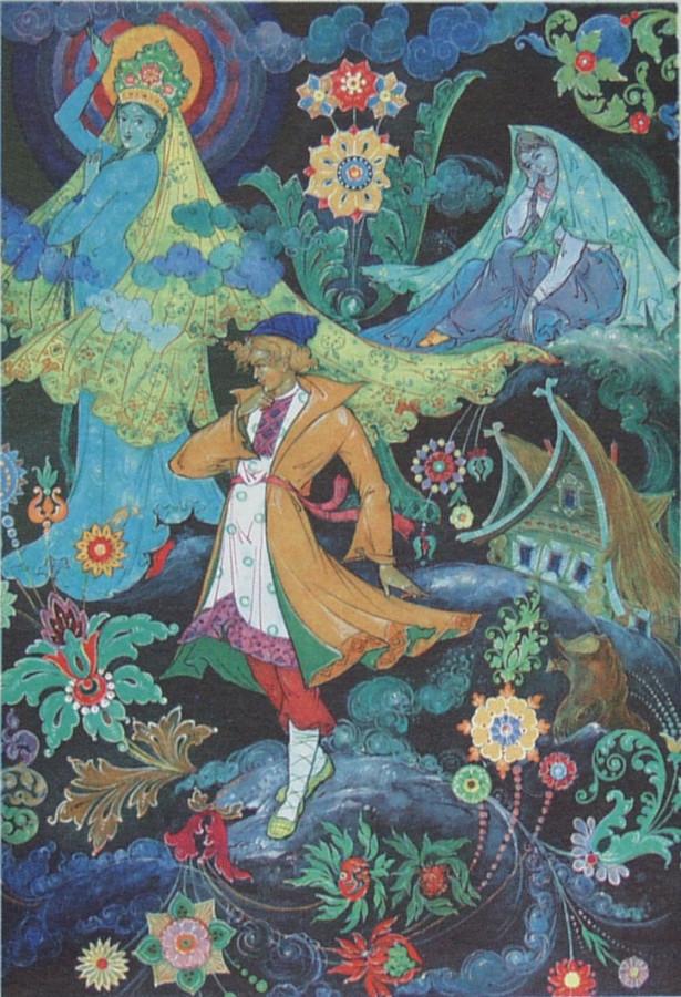 Картины каменный цветок