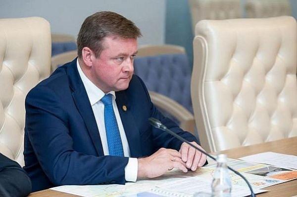 Николай Любимов губернатор Рязанской области(ставленник Артамонова губернатора Капужской области)