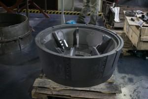 изготовление графитовой литейной формы отливки-2