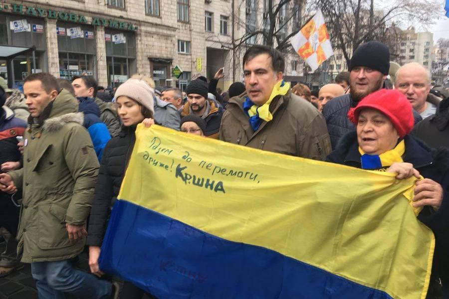 Зачем нужен был цирк с арестом Саакашвили?