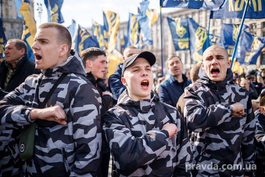 О столкновениях в Киеве и Черкассах