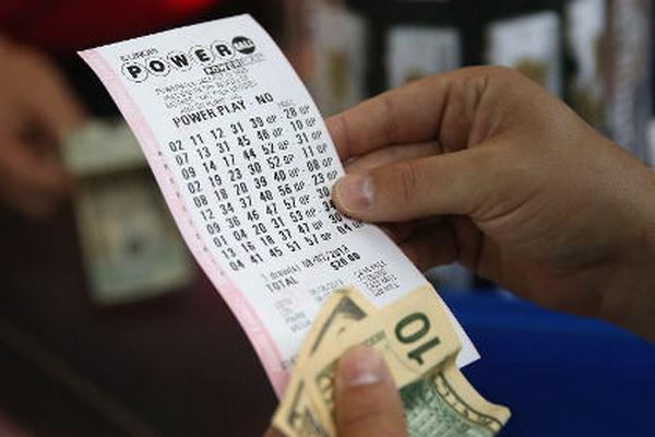 Билет лотереи Powerball