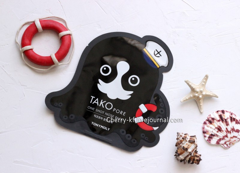 Tony Moly, Tako Pore, One Shot Nose Pack отзывы.jpg