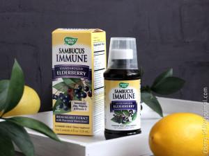 Nature's Way, Sambucus Immune, Elderberry Syrup, сироп из бузины отзывы.jpg