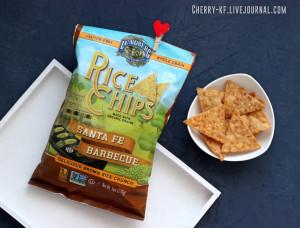 Lundberg, Рисовые чипсы, Санта-Фе для барбекю отзывы.jpg