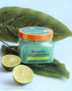 Tree Hut, Сахарный скраб с маслом ши, кокос и лайм отзывы, Shea Sugar Scrub Coconut Lime.jpg