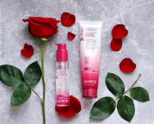 Giovanni, 2chic, роскошная успокаивающая маска для волос, цветы вишни и лепестки розы отзывы фото.jpg