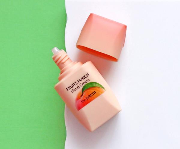 The Saem, Fruits Punch Hand Cream, Peach отзывы фото.jpg