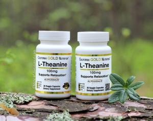 California Gold Nutrition, L-теанин, AlphaWave, способствует расслаблению, успокоению и концентрации, 100 мг отзывы.jpg
