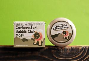 Пузырьковая  маска Elizavecca, Milky Piggy Carbonated Bubble Clay Mask, отзывы, хорошее средство от прыщей, от черных точек.jpg