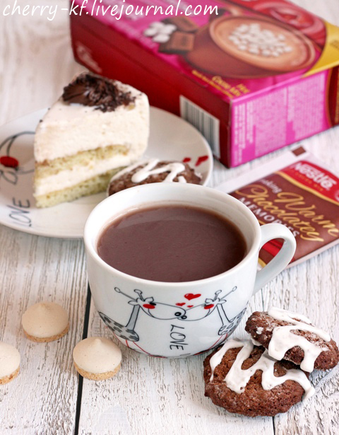 Nestle, Hot Cocoa Mix, Mini Marshmallows, Rich Milk Chocolate Flavor,  отзывы.jpg