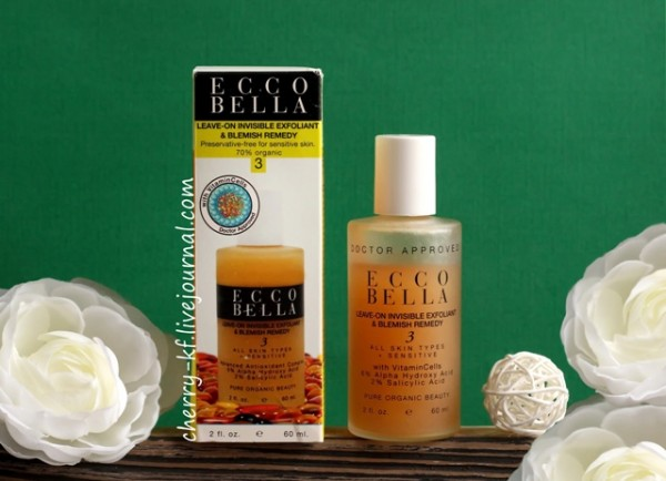 Ecco Bella, Leave-On Invisible Exfoliant & Blemish Remedy отзывы.jpg