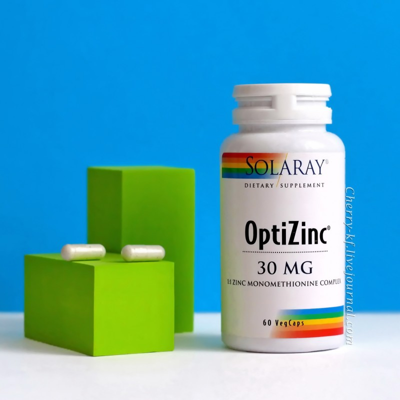 Solaray OptiZinc 30 мг 60 капсул отзывы Айхерб.jpg