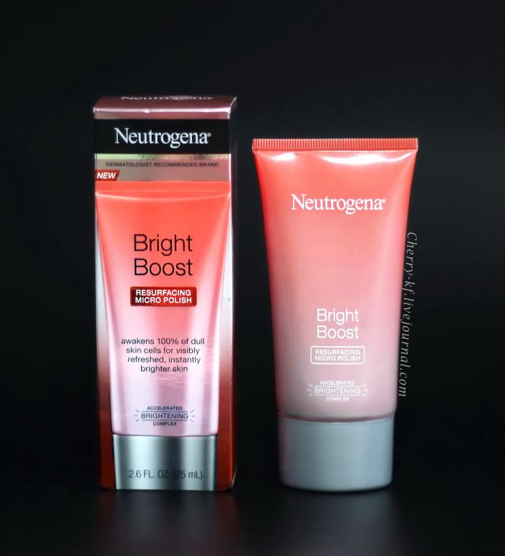 Полиш с кислотами Neutrogena для идеально гладкой кожи!