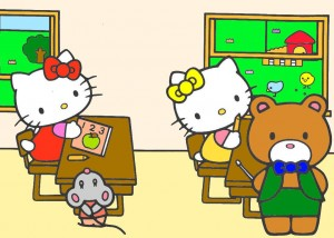 hello-kitty-goes-to-school