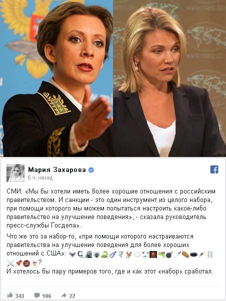 Для «улучшения поведения» Москвы Вашингтон вводит новые санкции
