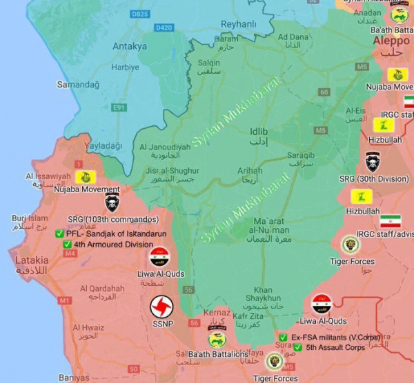 Сирийская армия перешла к активным действиям в районе идлибского котла