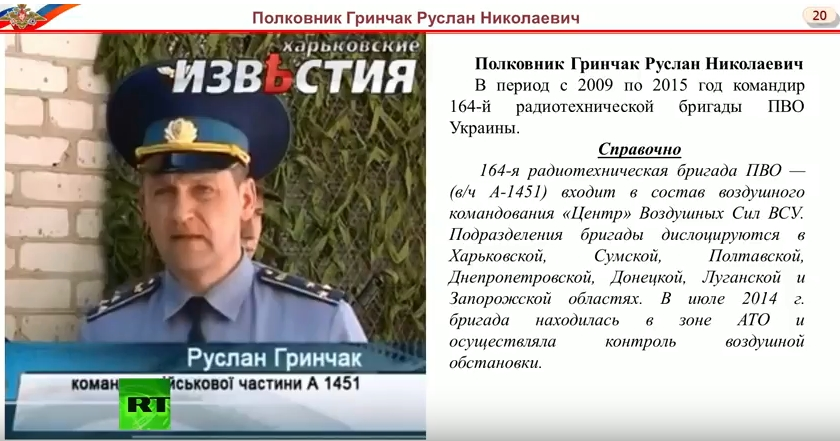 Пресс-конференция МО-РФ о новых фактах в деле уничтожения MH17. Все улики против Украины