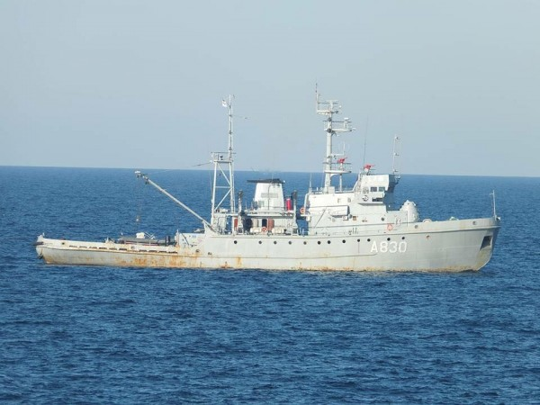 Украинская эскадра вошла в Азовское море