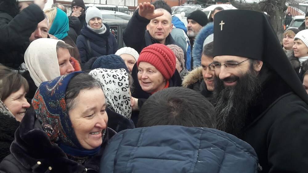В Виннице встретили новоназначенного архиепископа УПЦ МП