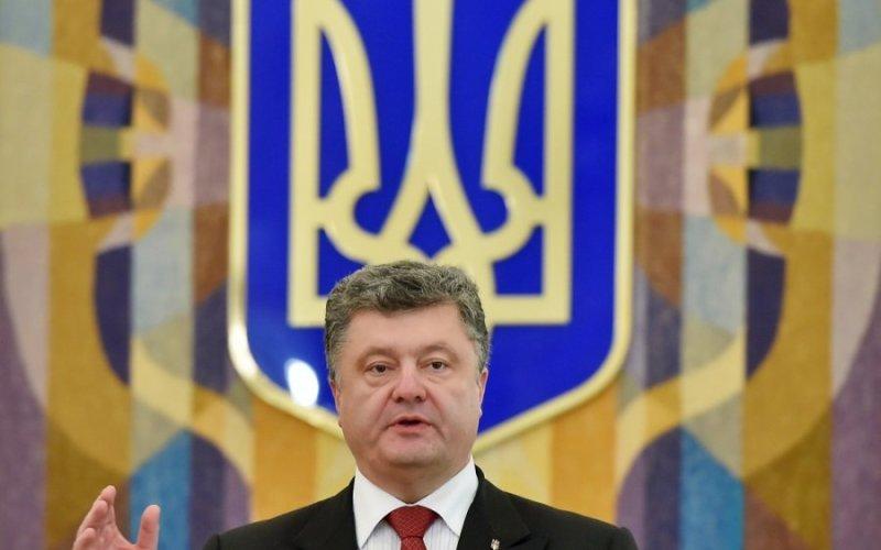 Порошенко рассказал о древнем украинском трезубце в Севастополе