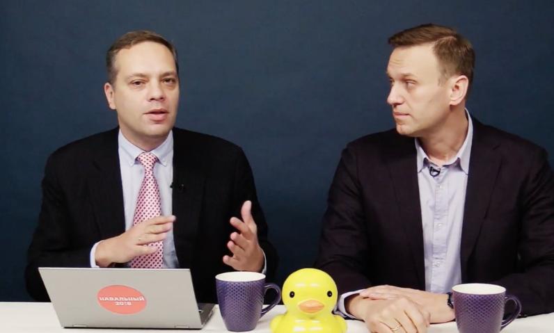 Навальный с восторженным анонсом репостит «программную статью» Владимира Милова