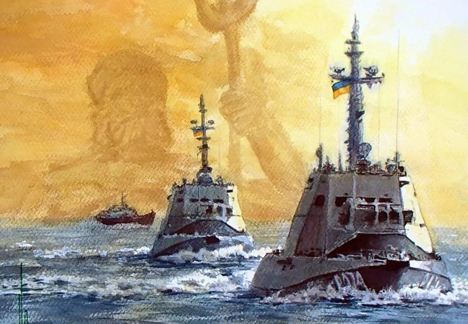 Россия передала Украине задержанные в Керченском проливе корабли