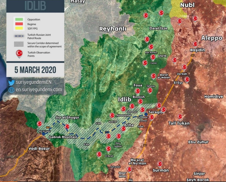 Новости о турецко-сирийском противостоянии в Идлибе