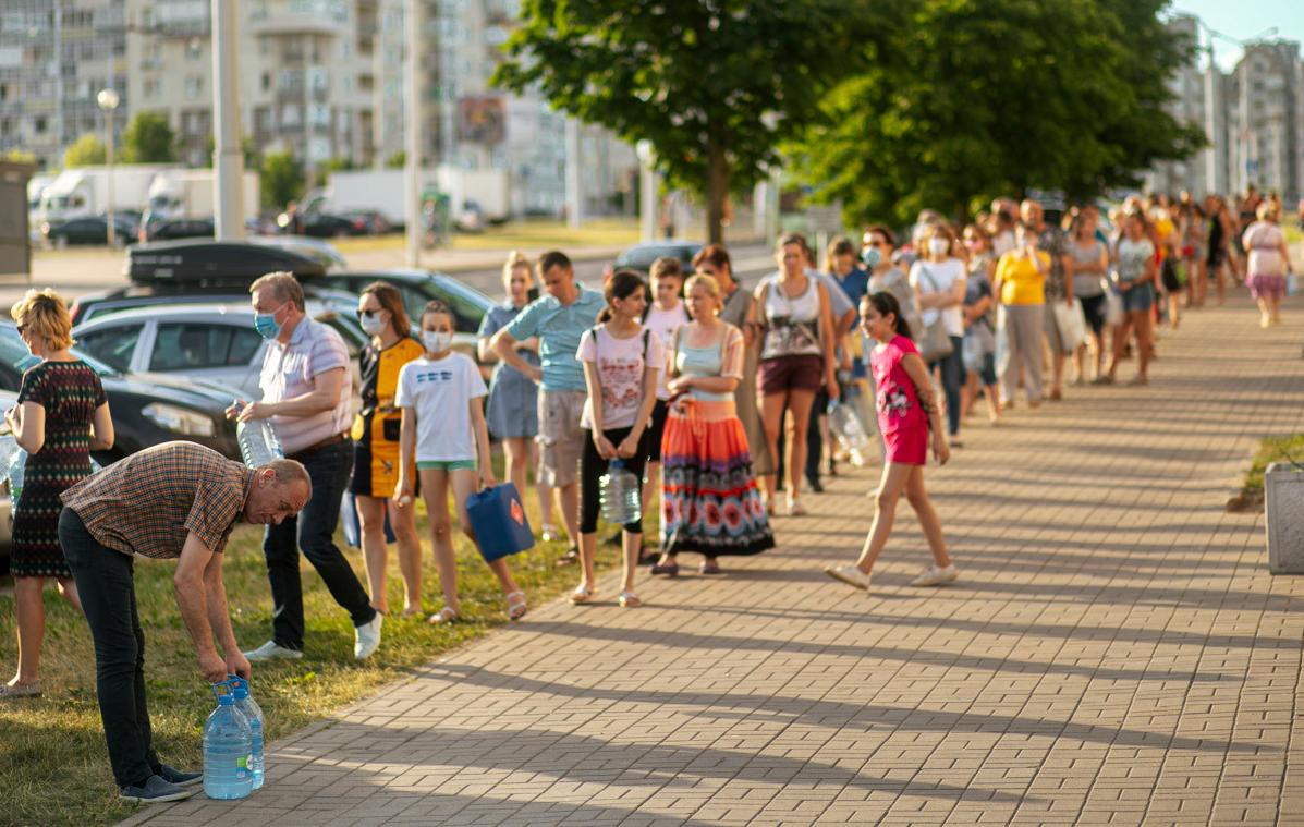 Вторые сутки всё плохо в Минске с санитарно-эпидемиологической ситуацией. При