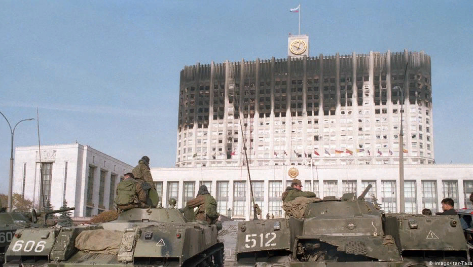 Государственный переворот Ельцина