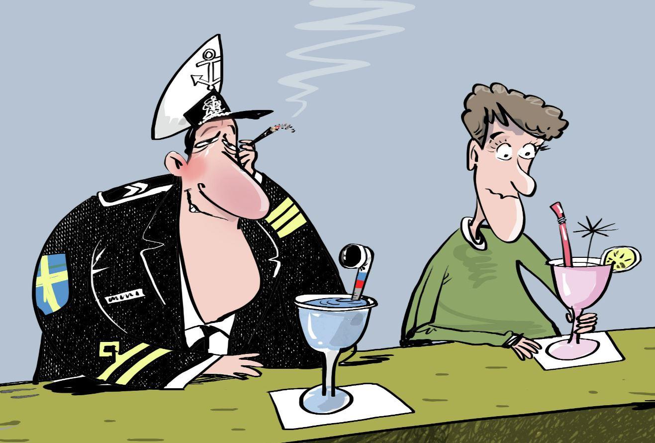 Шведы перепутали русские подлодки с селёдками
