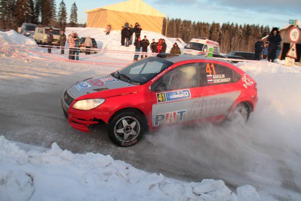 Раллийная CHERY М11 выступила на этапе Кубка России в Карелии