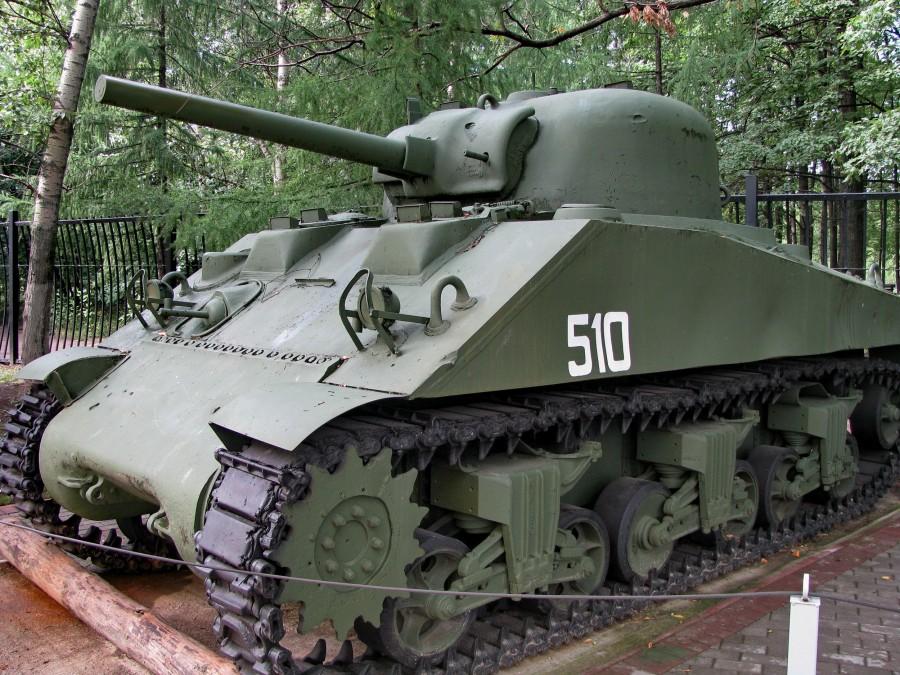 31 Шерман M4A2 на Поклонной.JPG