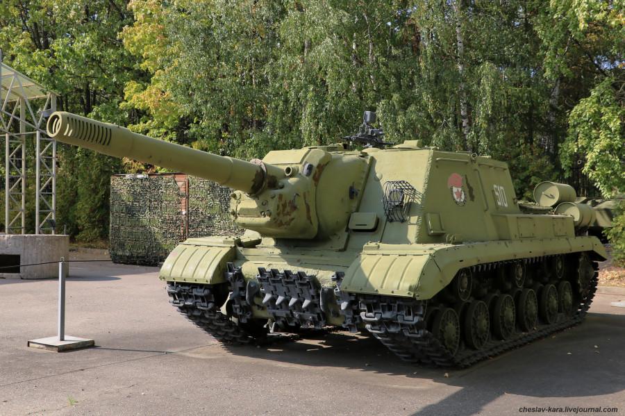 34 ИСУ-152К _60 (Поклонная, 2019).JPG