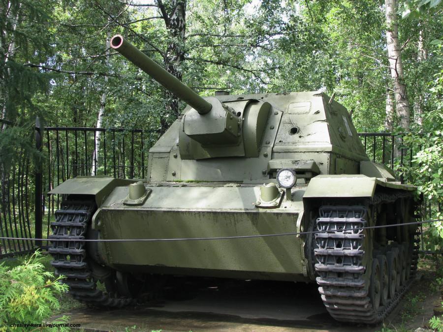 36 СУ-76И на базе Т-III _2.JPG