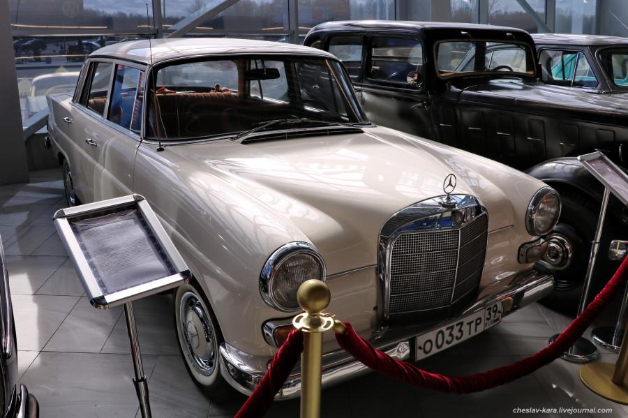 12 Mercedes-Benz W110 200D, 1965г (Храброво, март2020) _160.JPG