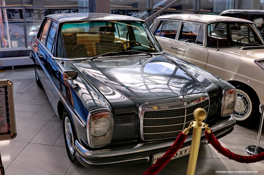 20 Mercedes-Benz W115 200D, 1973г (Храброво, март2020) _130.JPG
