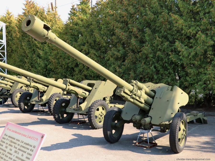 170- 85 мм БЛ-25, опыт _40 (Поклонная гора, 2019).JPG
