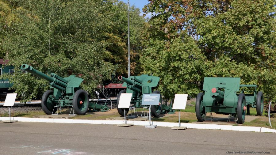 288- 152 мм Д-1, 122 мм М-30 и обр1910г _20 (Поклонная гора, 2019).JPG