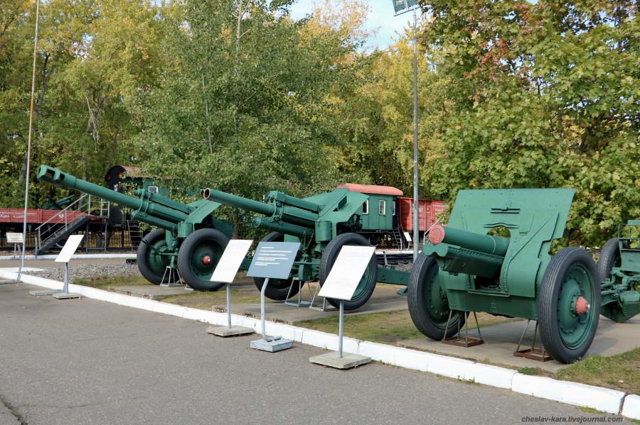 289- 152 мм Д-1, 122 мм М-30 и обр1910г _30 (Поклонная гора, 2019).JPG