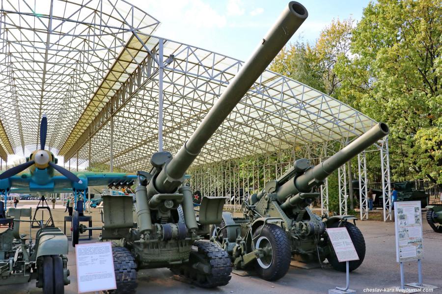310- 152 мм БР-2 и 203 мм Б-4М _30 (Поклонная гора, 2019).JPG