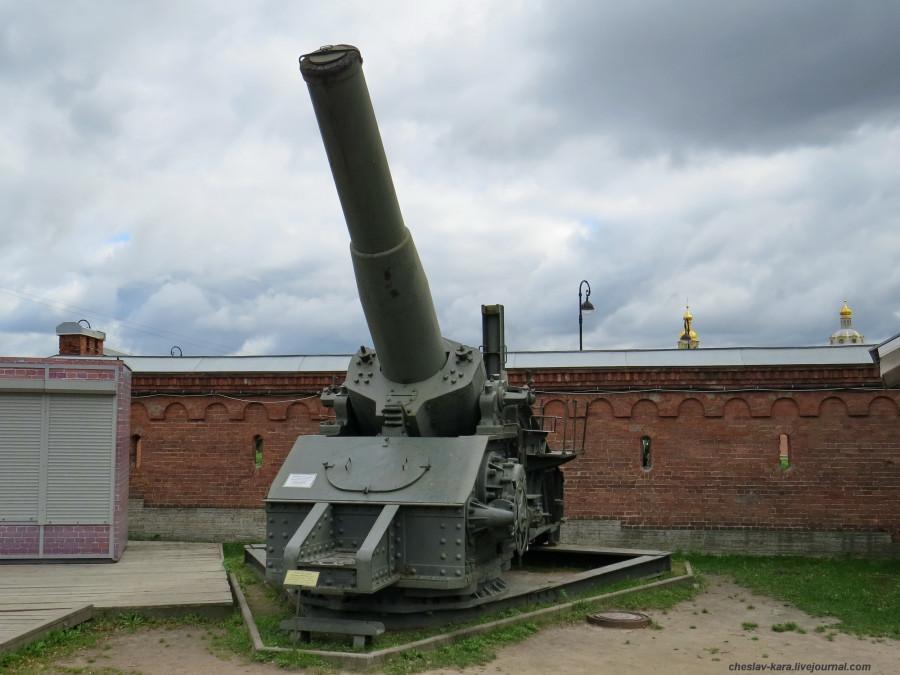 305 мм гаубица обр 1915г (Арт музей) _610.JPG