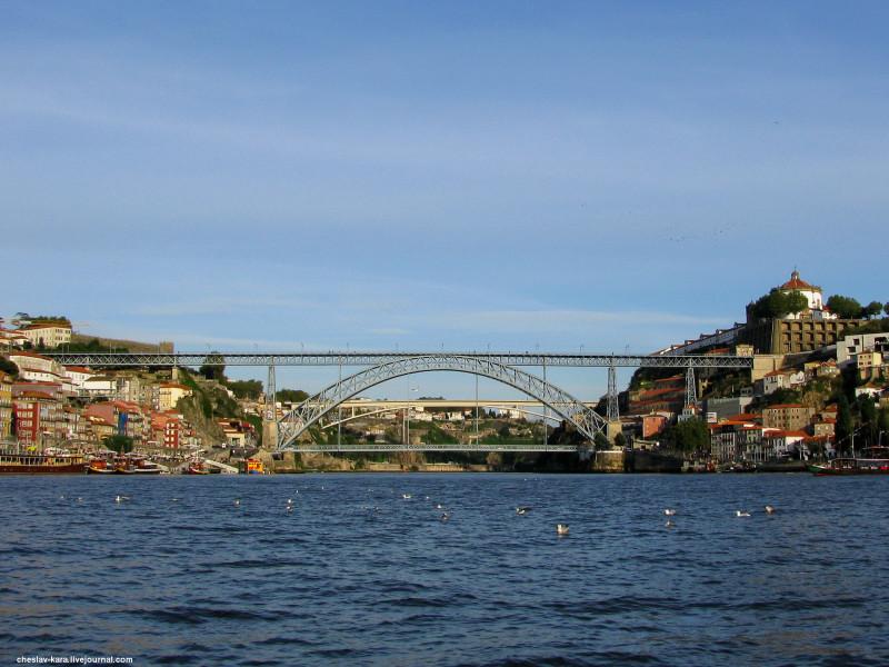 Португалия, Порту - мосты _ 1200 мост Луиша I.jpg