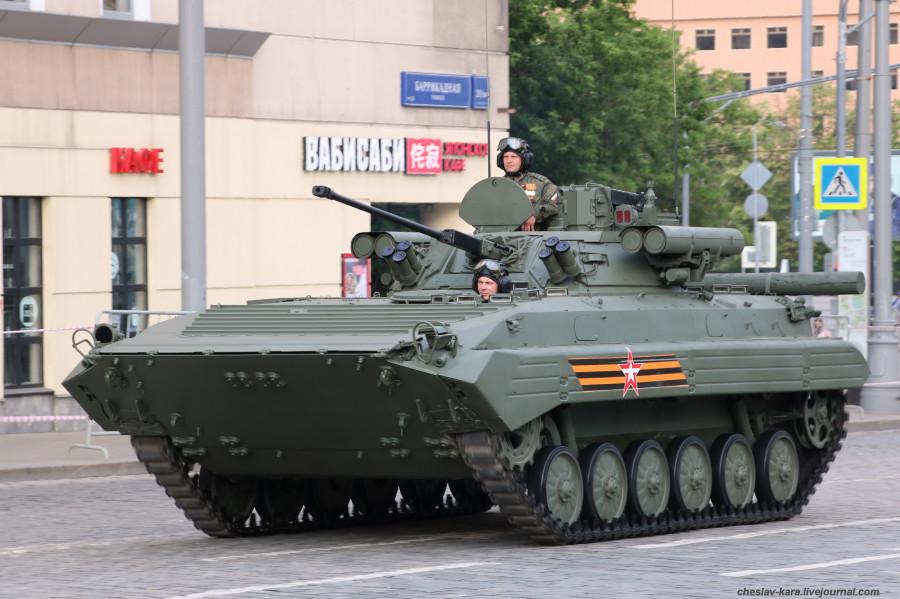 90 - БМП-2М Бережок (Парад Победы 2020) _40.JPG